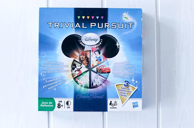 Jeu de réflexion Trivial Pursuit Disney