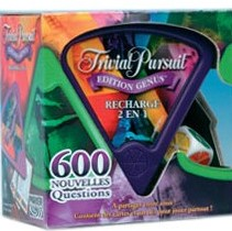Recharge edition Trivial Pursuit Genus 2 en 1