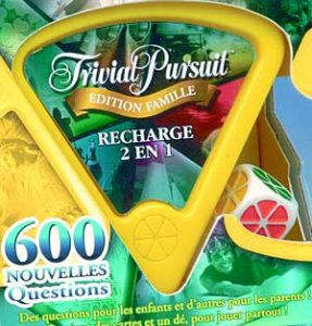 Trivial Pursuit Recharge Famille