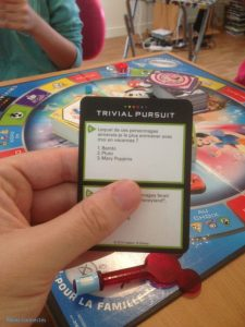 Carte Trivial Pursuit Disney